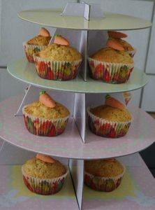 Muffins Etagere Osterhase – Bild 2