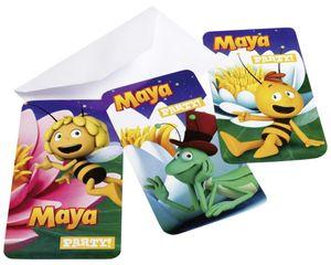 Einladungskarten Biene Maja – Bild 1