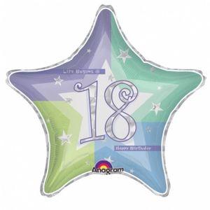 18. Geburtstag Folien Ballon