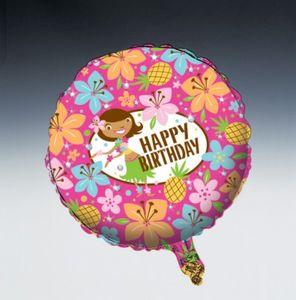 Folienballon Hula Mädchen