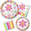 12 Blumen Pink Flower Wraps und Picks