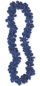 Hawaii Kette Blumenkette Blau