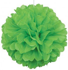1 großer Papier Dekoball hellgrün