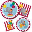 2. Geburtstag 16 Servietten Zirkus Spaß