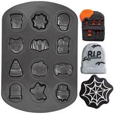 Backform kleine Halloween Motive