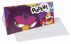 Furby Einladungskarten