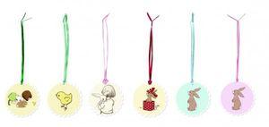 6 Belle & Boo Geschenkanhänger