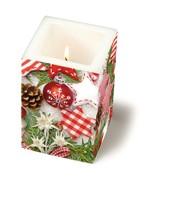 Kerze Weihnachts Allerlei – Bild 1