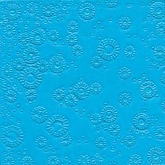 Servietten Uni Aquablau