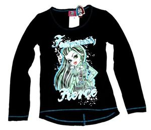 Monster High Langarmshirt Schwarz