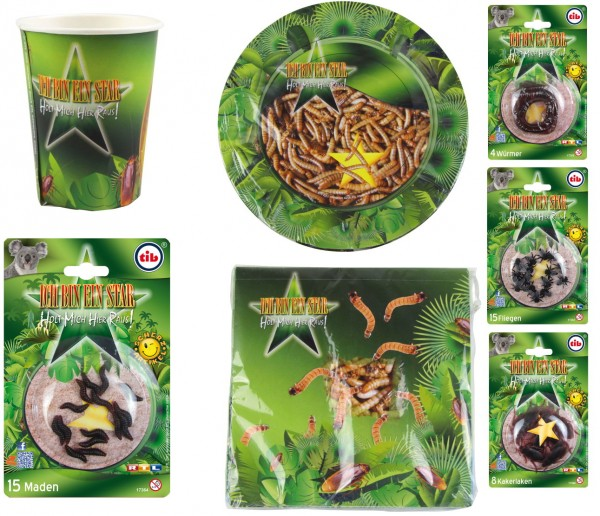 8 Dschungelcamp Becher