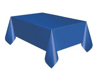 Plastik Tischdecke Königs Blau