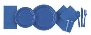 Plastik Tischrock Königs Blau – Bild 3