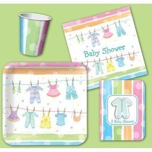 Wimpel Girlande Baby Kleidung – Bild 2