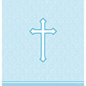 Tischdecke blaues Kreuz