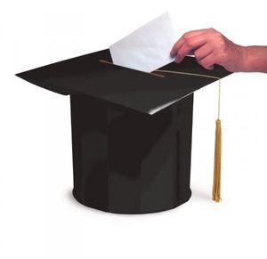 Glückwunschkarten Doktorhut Box Abi Examen