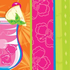 18 Servietten Sommer Cocktails