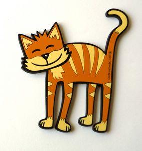 Getigerte Katze - Kool Cats - Glasuntersetzer