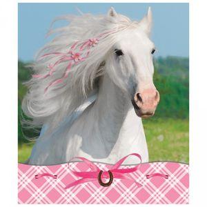 4 Notiz Blöcke Sommer Pferd