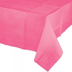 Plastik Tischdecke Bonbon Rosa