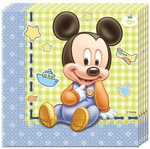 20 Servietten Baby Micky – Bild 1