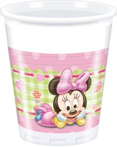 8 Becher Baby Minnie – Bild 1