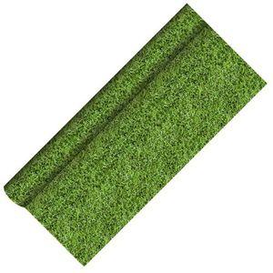 12 x 5 Meter Papier Tischdecke Gras Rasen