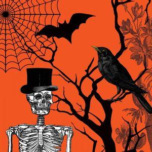 18 Servietten Halloween Kulisse