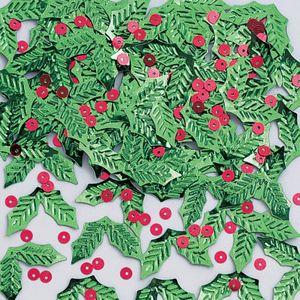 Konfetti Weihnachts Misteln