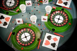6 Poker Tischsets
