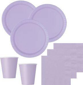 16 Papp Teller Lavendel – Bild 2