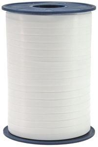 Geschenk oder Ballonband Weiß 5mm 500 Meter Rolle