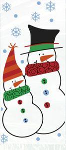 20 Zellophantüten Schneemann und Freunde – Bild 1