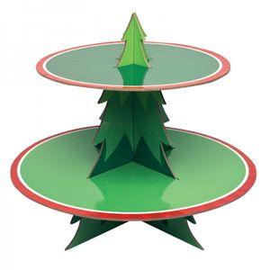 Weihnachtsbaum Muffin Etagere