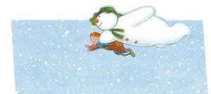 Tischkarten The Snowman and The Snowdog
