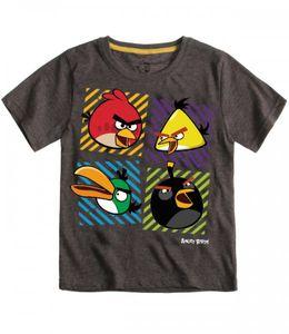 Angry Birds T-Shirt Grau