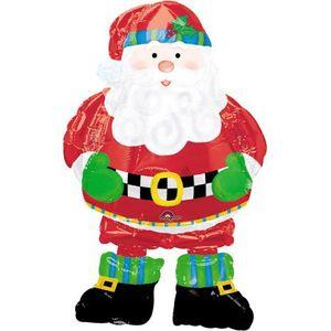 Airwalker Folien Ballon Weihnachtsmann 94 cm hoch