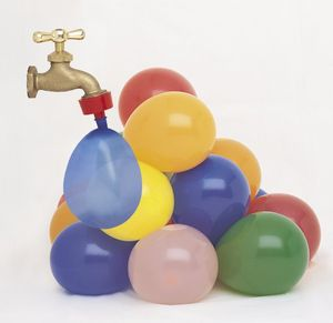 144 bunte Wasserbomben