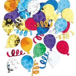 Konfetti bunte Luftballons