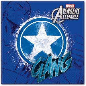 20 Avengers Teens Servietten Captain America