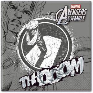 20 Avengers Teens Servietten Thor – Bild 1