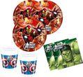 Avengers Multi Heroes Geburtstags Kerze