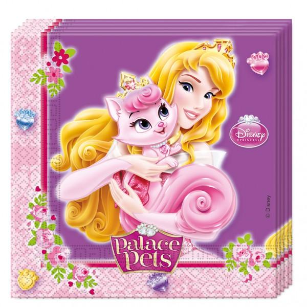 20 Servietten Disney Princess Palace Pets