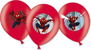 6 Luftballons Spiderman