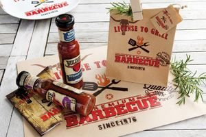 License To Grill - 12 Platzsets aus Packpapier – Bild 2