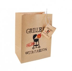 Grilled With Passion - Dekotüte aus Packpapier