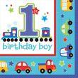 16 Servietten Erster Geburtstag Alles an Bord