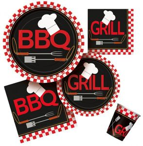 8 Papp Becher Grill Party BBQ Chef – Bild 2