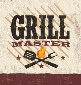 Plastik Tischdecke Grill Meister