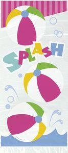 20 Sommer Party Zellophantütchen Pool Party